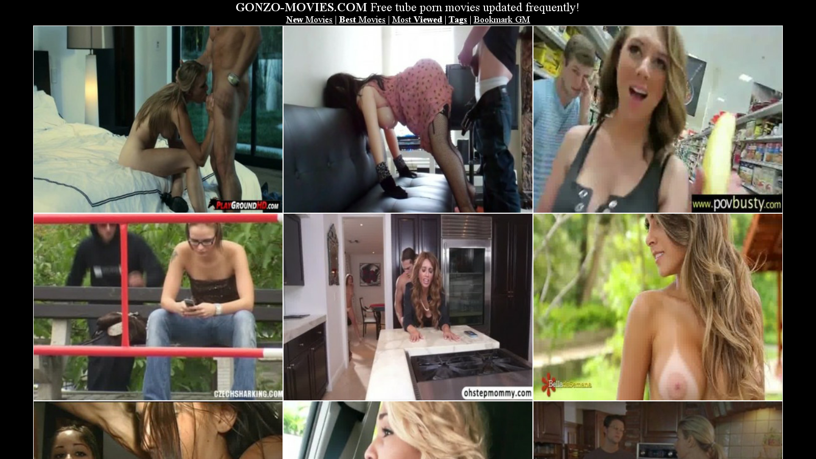 Gonzo Porn Movie - Hot Model Fukers-5974